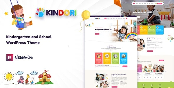 Kindori 1.1 – School Kindergarten WordPress Theme