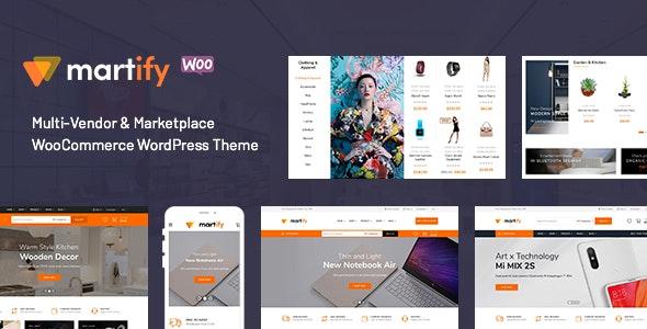 Martify 2.0.0 – WooCommerce Marketplace WordPress Theme