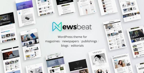 Newsbeat 1.1.9 – Optimized WordPress Magazine theme