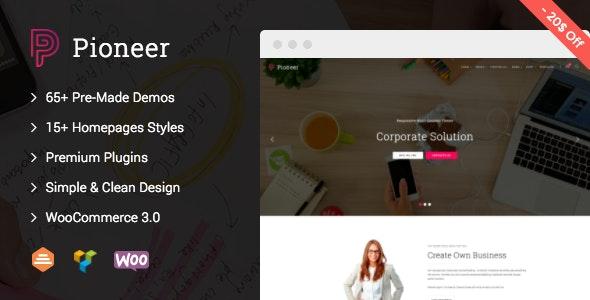 Pioneer 1.0.7 – Multi-Concept Corporate WordPress Theme
