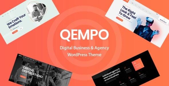 Qempo 1.1.9 – Digital Agency Services WordPress Theme
