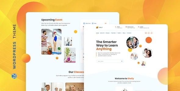 Shelly 1.0.0 – School WordPress Theme
