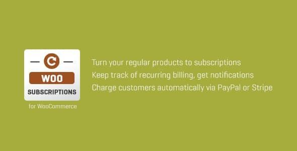 Subscriptio 3.0.7 – WooCommerce Subscriptions