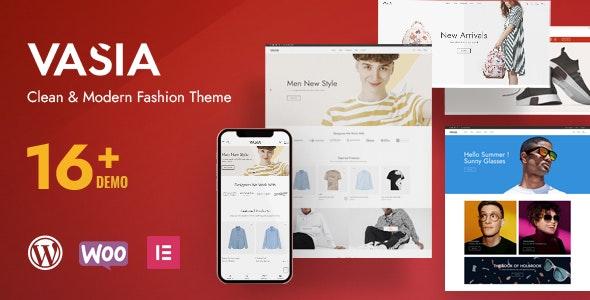 Vasia 1.0 – Multipurpose eCommerce WordPress Theme