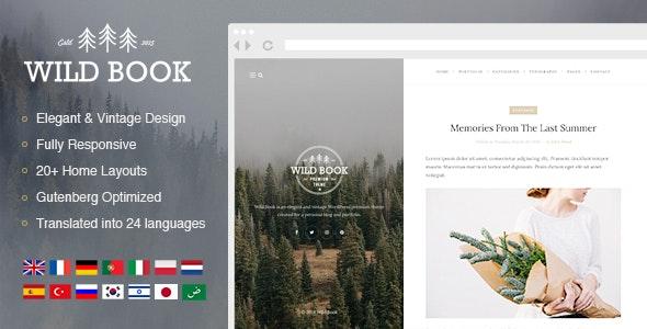 Wild Book 1.9.4 – Vintage & Elegant WordPress Blog Theme