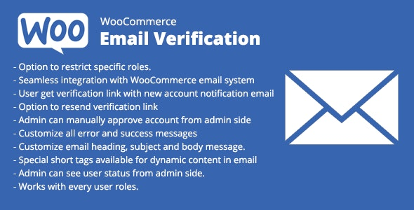 WooCommerce Email Verification v1.8